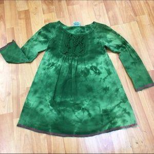 Little Angel Club Long Tunic Dress Tie Dye Knit 6X